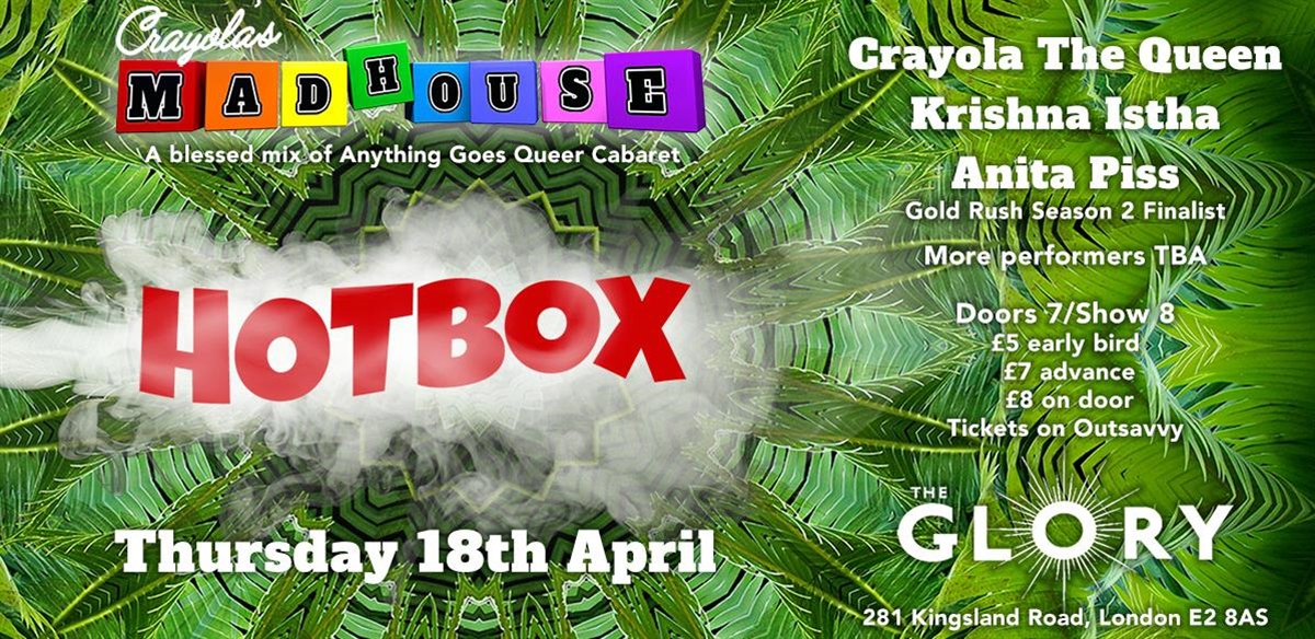 Crayola's Madhouse: HOT BOX tickets