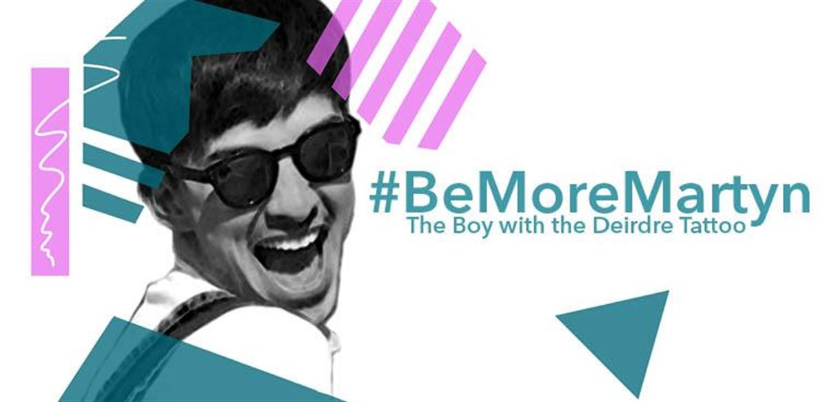 #BeMoreMartyn tickets