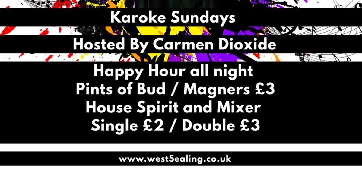 Karaoke with Carmen tickets