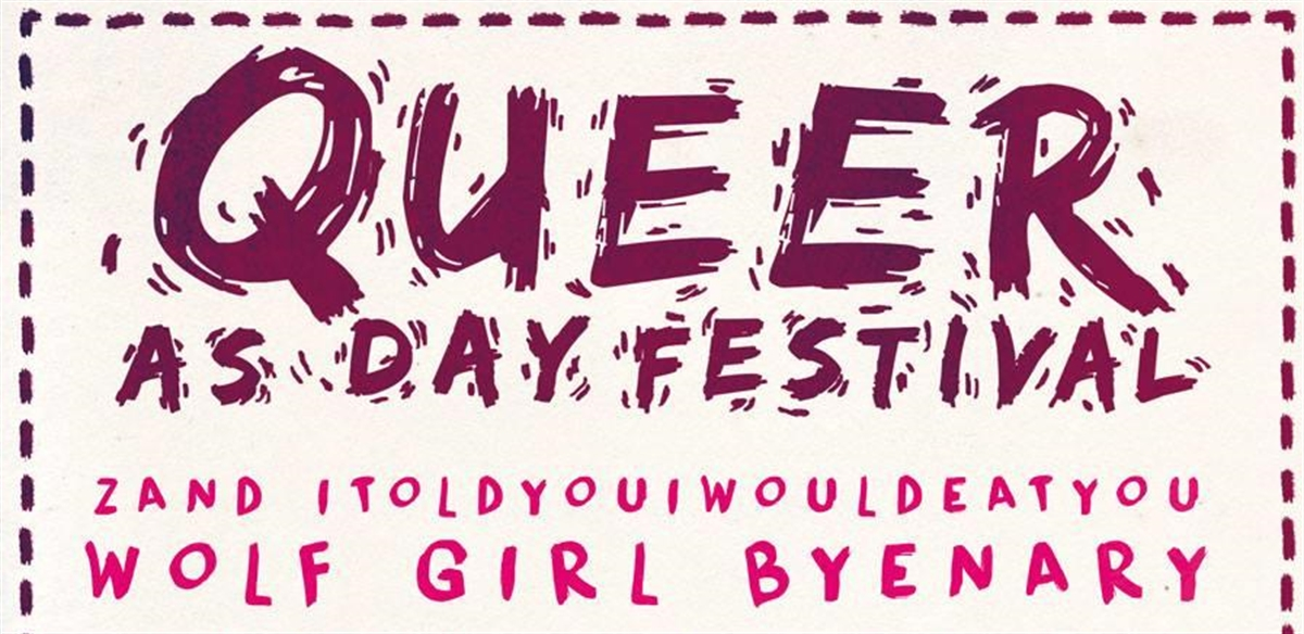 Queer As Day Fest 2018 tickets