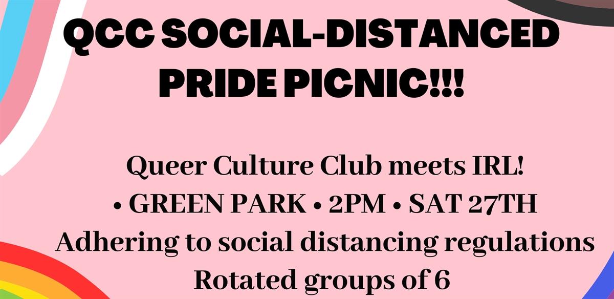 Pride celebration picnic!! Socially distanced 6-person rotation tickets