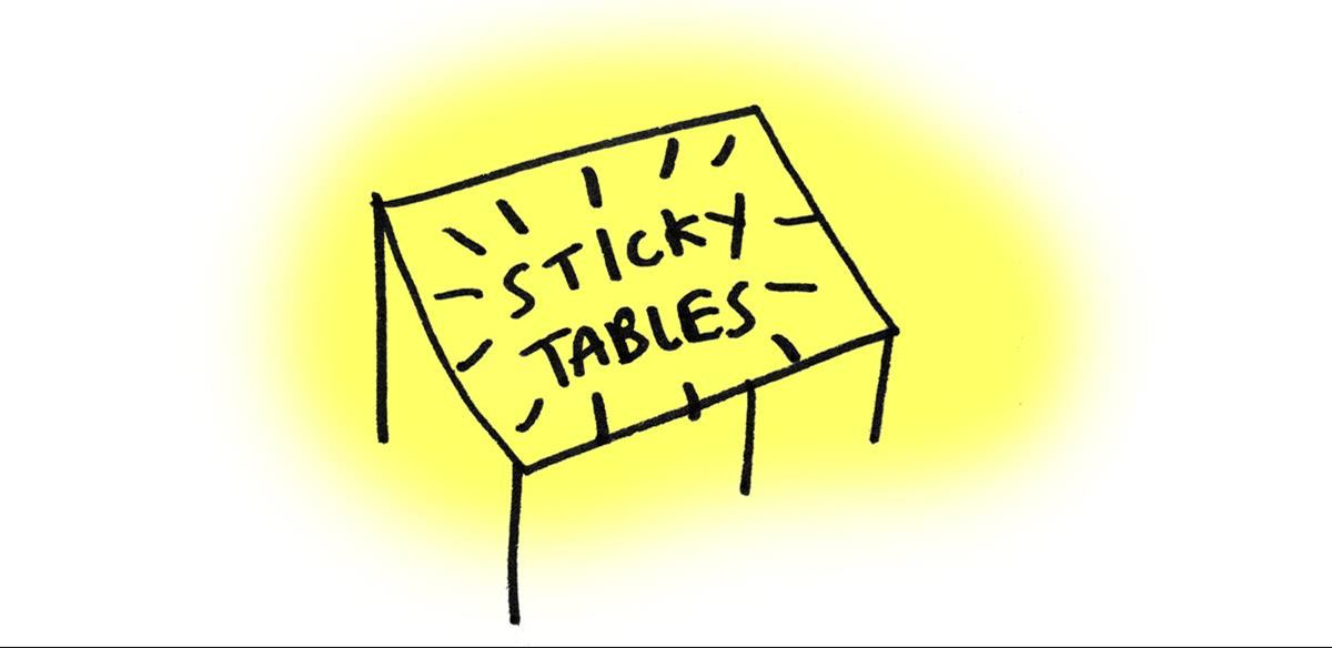 Sticky Tables - with BLISS + Liv Wynter tickets