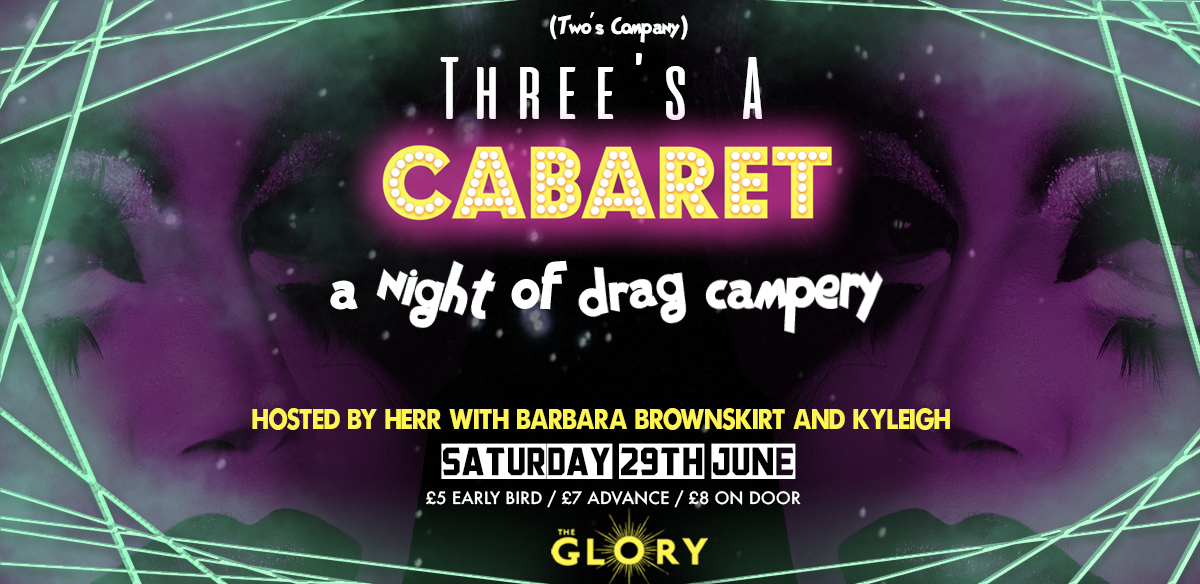 Three's A Cabaret! tickets