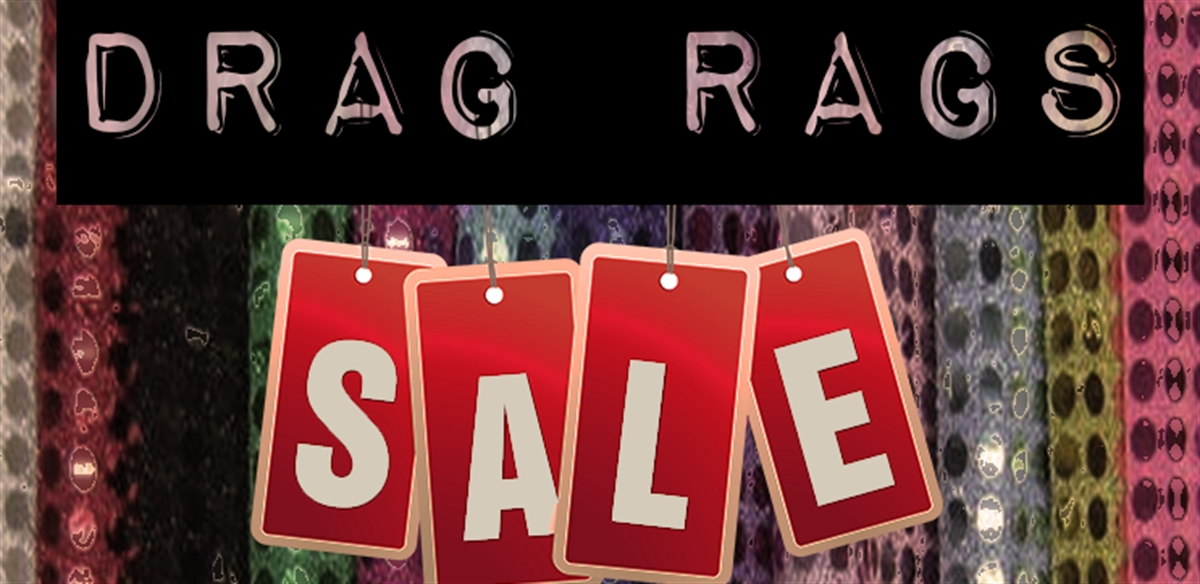 DRAG RAGS SALE tickets