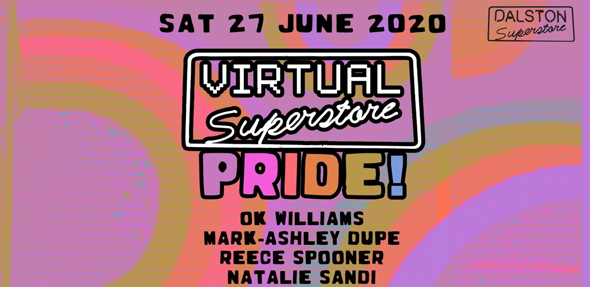 Virtual Superstore Pride: Colours Youth Network Fundraiser tickets