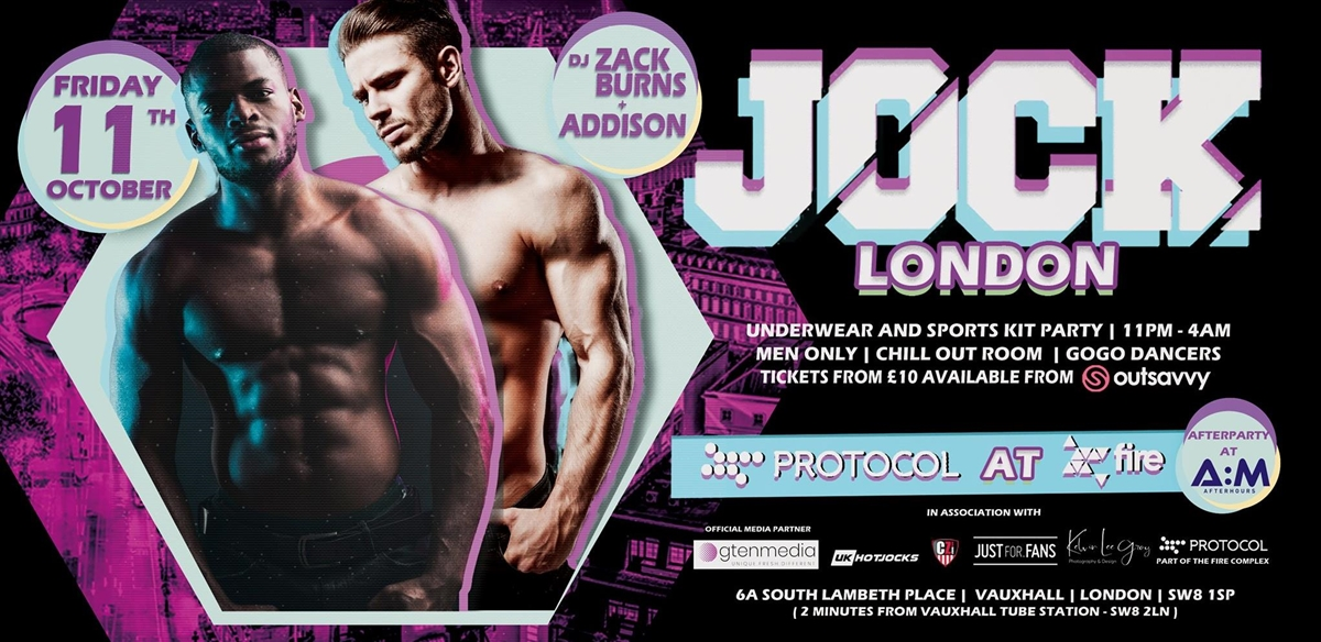 JOCK London at Protocol, Fire Complex tickets