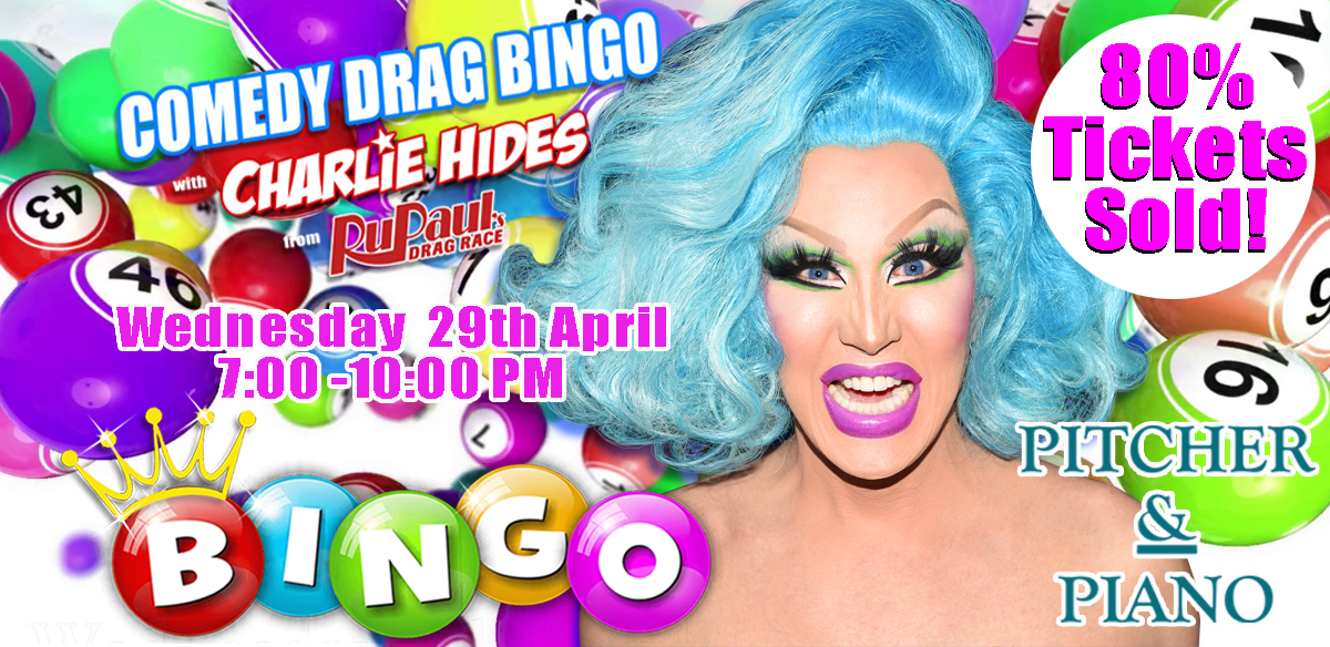 Drag Bingo with Charlie Hides - Tunbridge Wells tickets