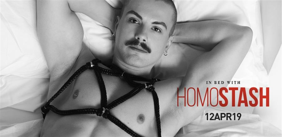 In bed with HOMOSTASH tickets