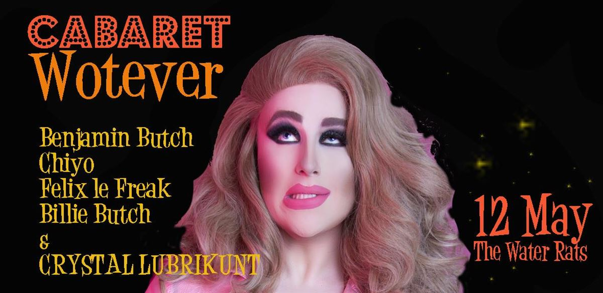 Cabaret Wotever tickets