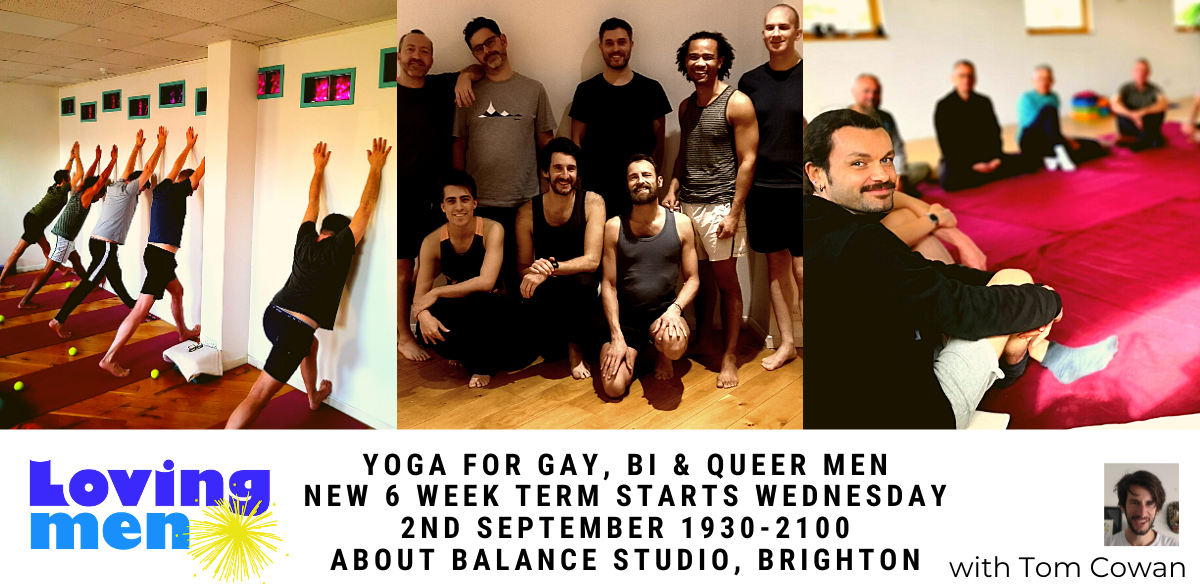 Loving Men Yoga - Brighton With Tom tickets