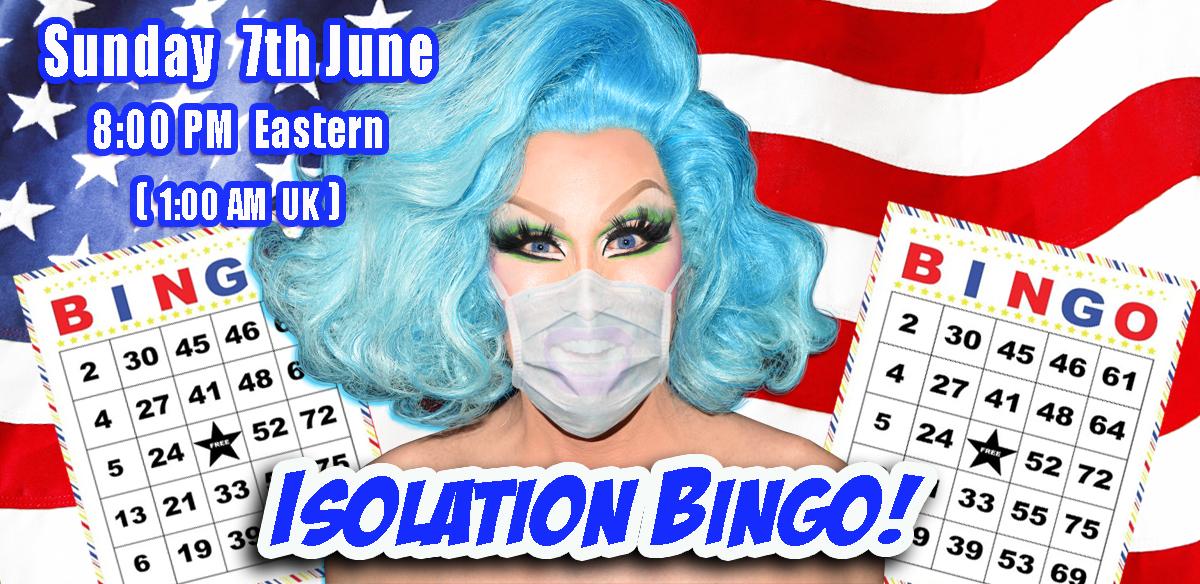 ISOLATION BINGO – USA Edition