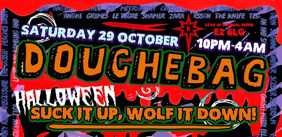 Douche Bag Halloween tickets