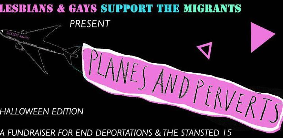 LGSMigrants present: Planes and Perverts! Halloween party tickets