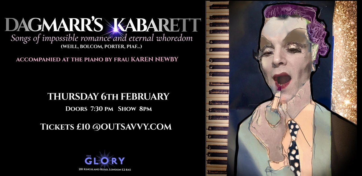 Dagmarr's Kabarett - Songs of Impossible Romance and Eternal Whoredom tickets