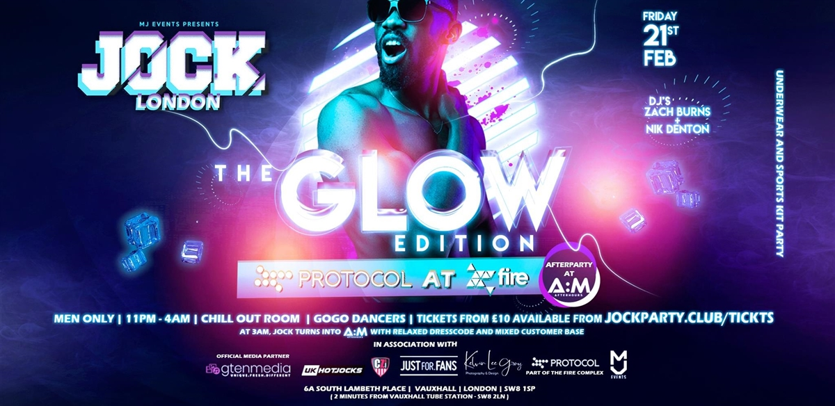 JOCK London - The GLOW Edition tickets