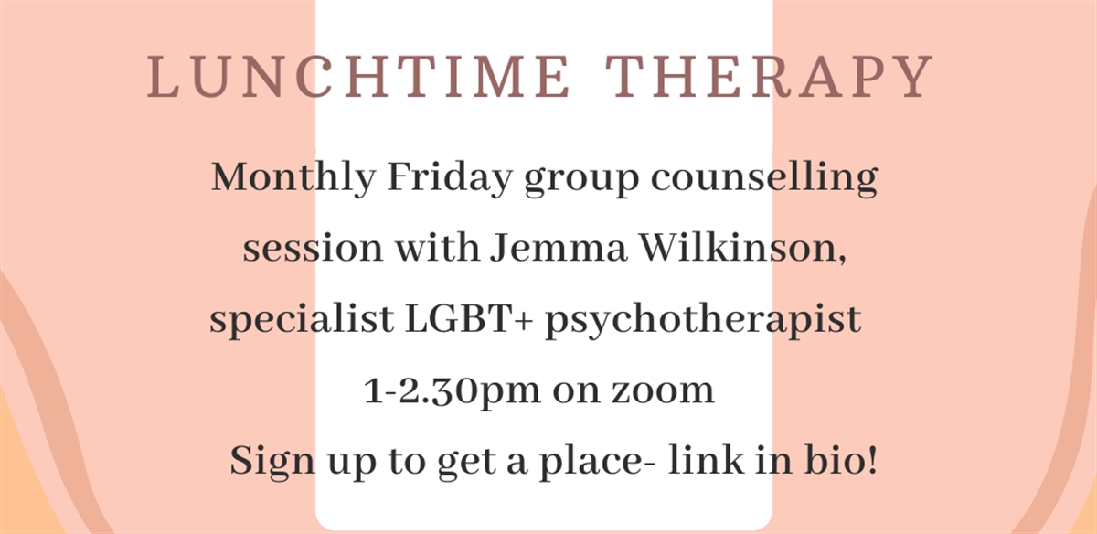 Friday Lunchtime Therapy Sessions  tickets