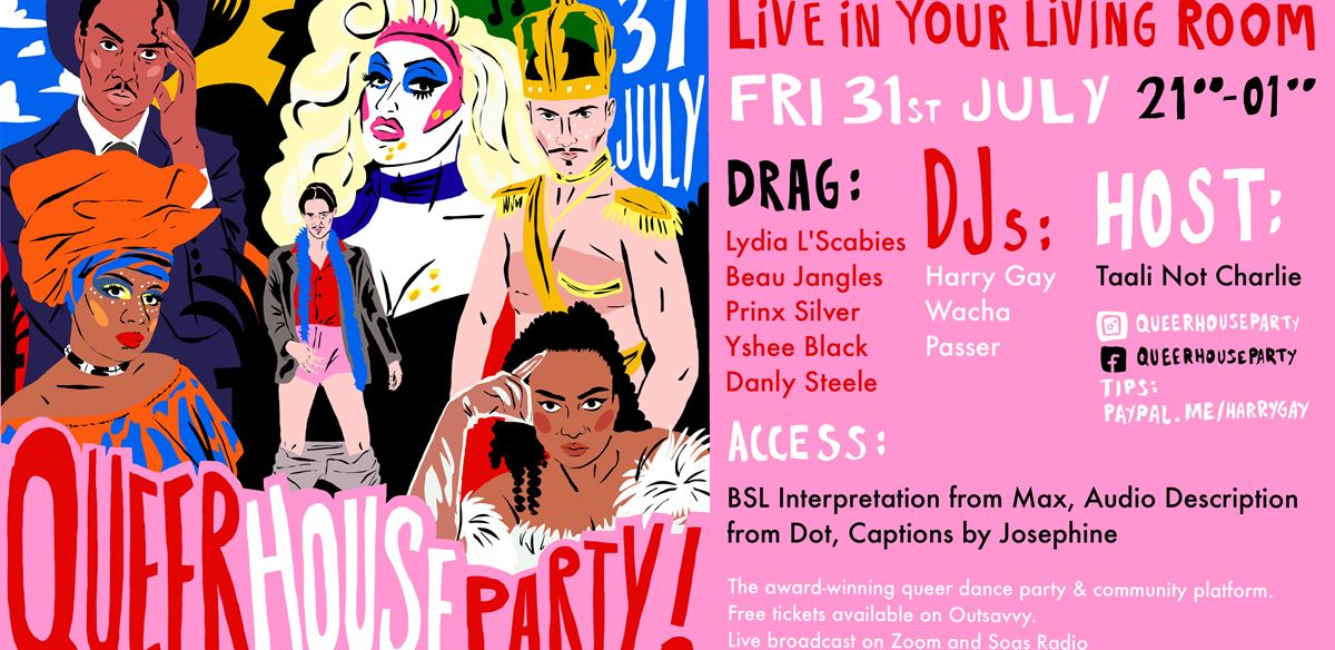 Queer House Party: The Return tickets