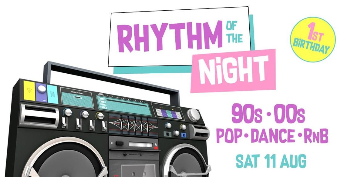 Rhythm of the Night   1st Birthday  tickets