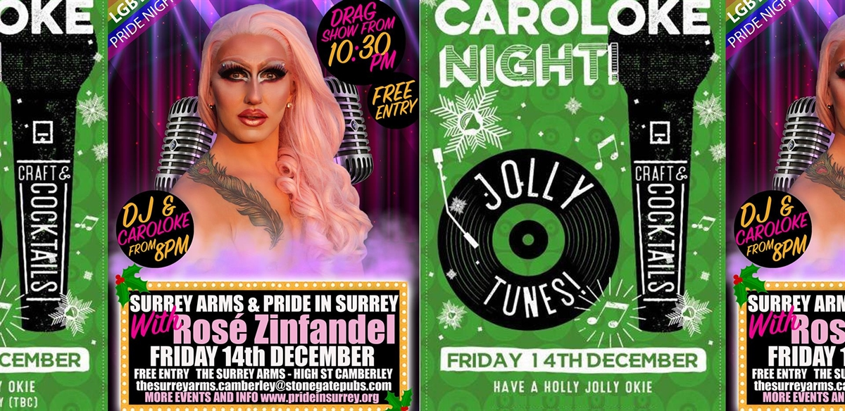 CarolOke and Drag at The Surrey Arms tickets