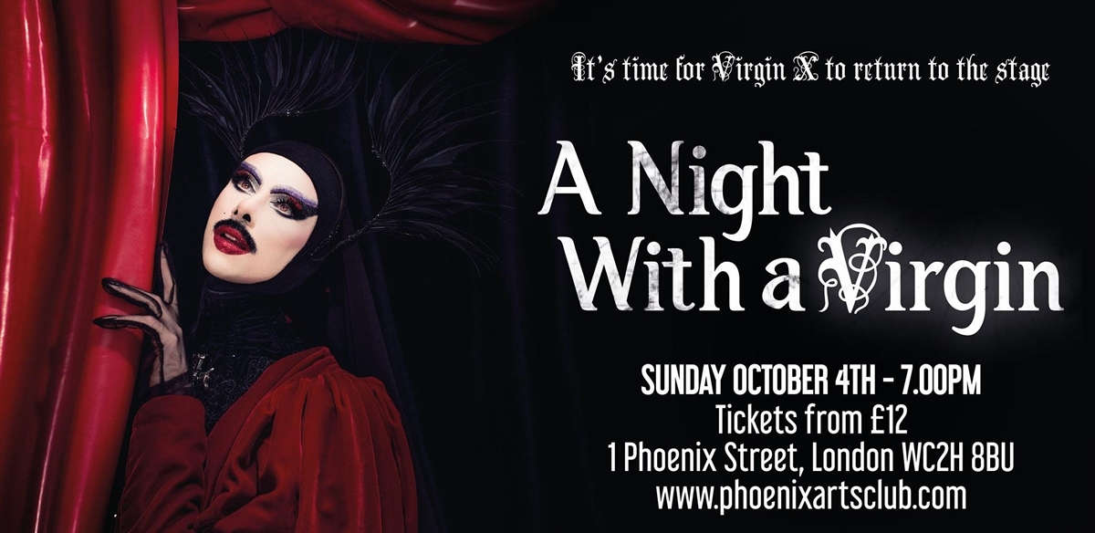 A Night with a Virgin tickets