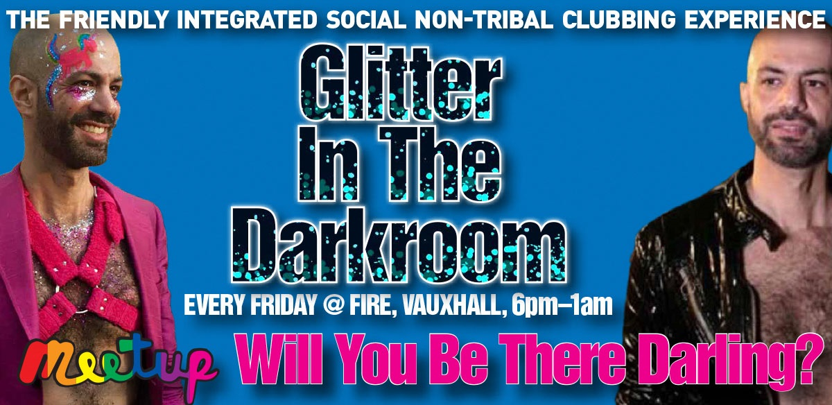 Will You Be There Darling? Glitter In The Darkroom - Friday 15 March tickets