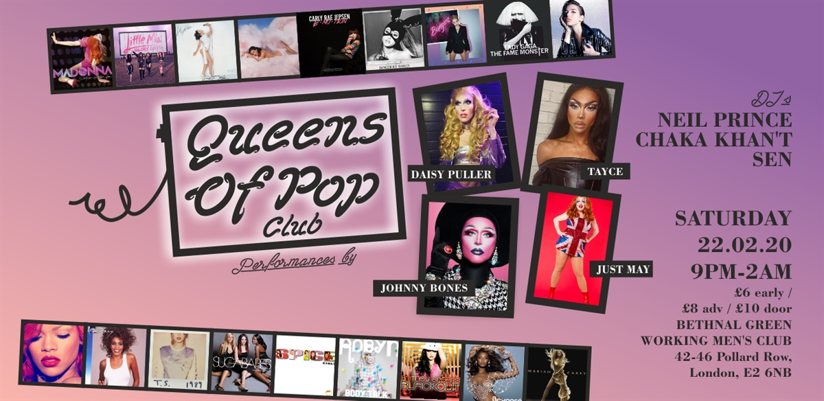 Queens Of Pop Club tickets