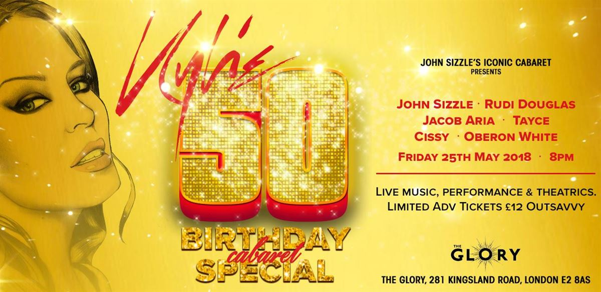 Kylie 50 - Birthday Cabaret Special tickets
