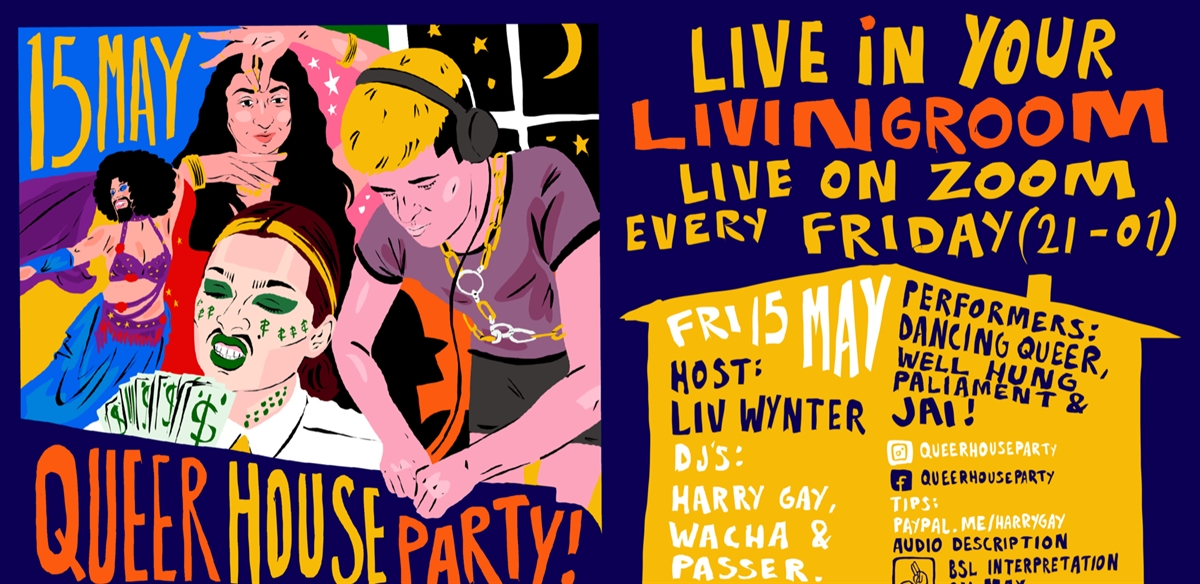 Queer House Party: LIVE in your living room tickets