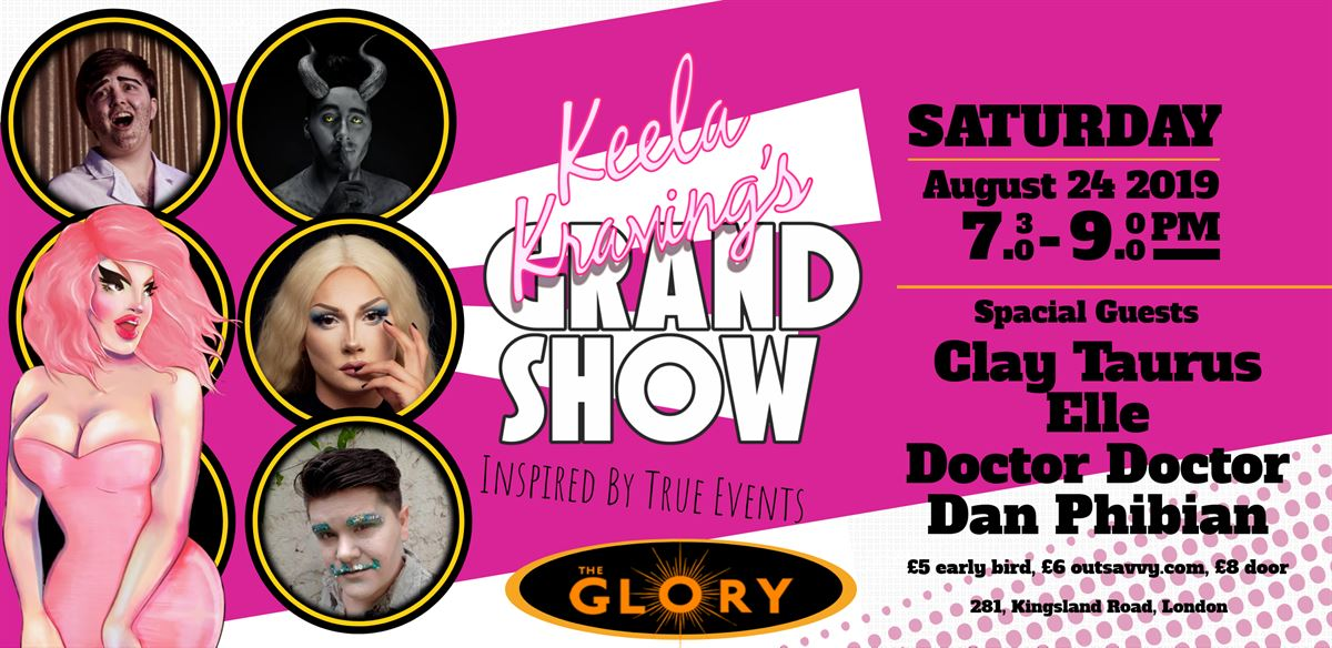 Keela Kraving's Grand Show! Hallween Special tickets