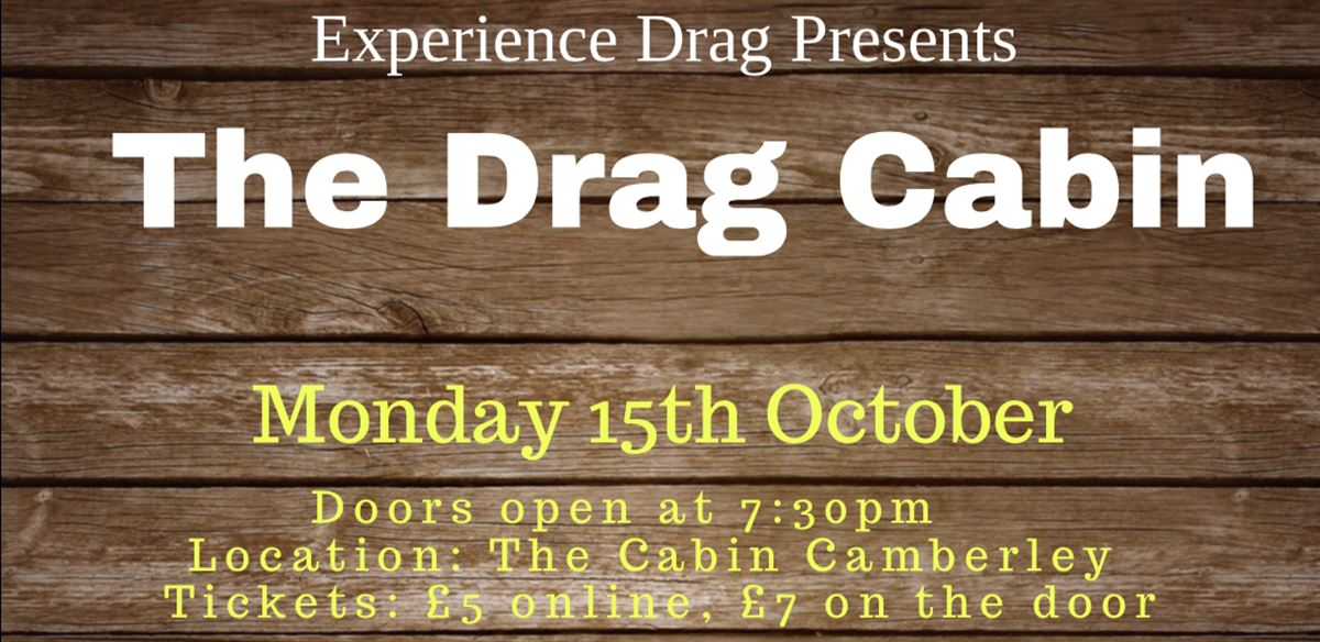 Experience Drag presents 'The Drag Cabin' with Pride in Surrey tickets