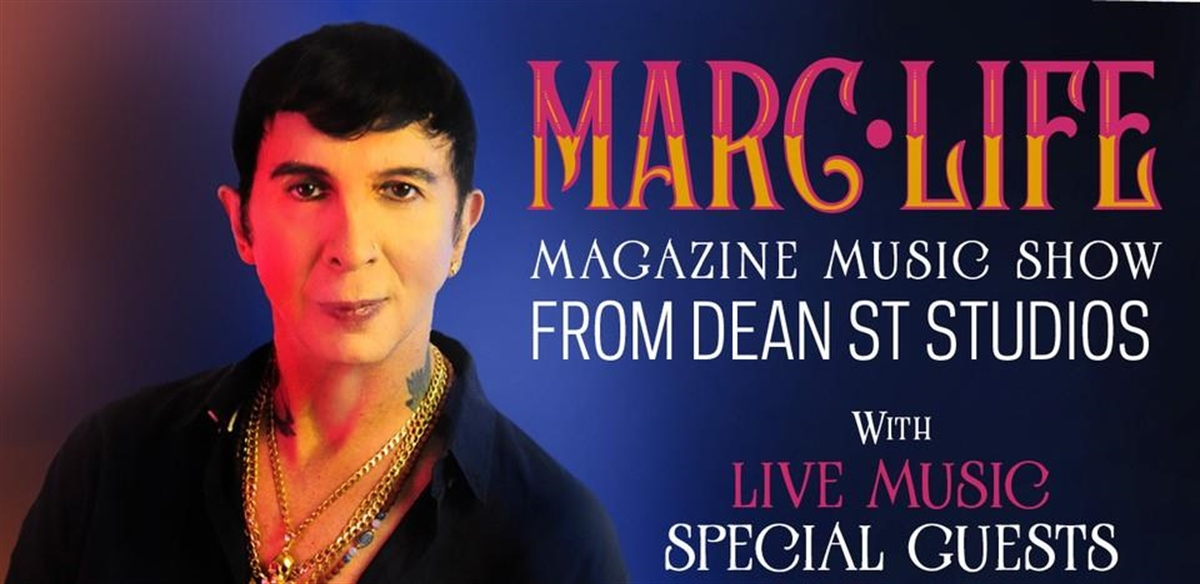 Marc Almond: Marc Life - Magazine Music Show from Dean Street Studios tickets