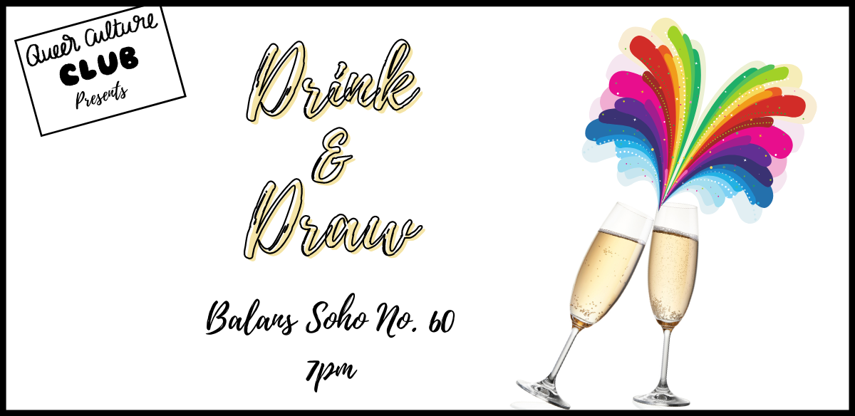 'Drink & Draw' Social with Queer Culture Club tickets
