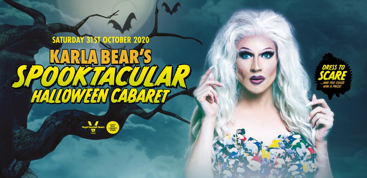 Karla Bear's Spooktacular Halloween Cabaret  tickets
