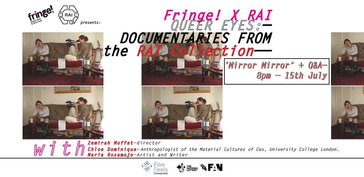 Fringe! x RAI : Queer Eyes – Mirror Mirror Q&A tickets