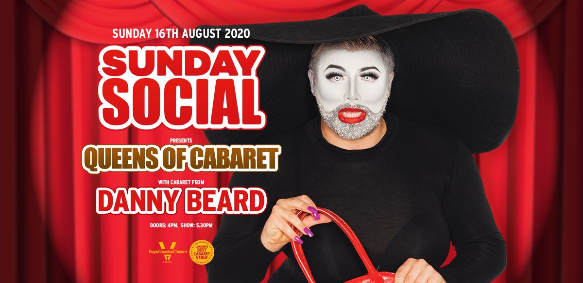 Sunday Social with Danny Beard at The RVT tickets