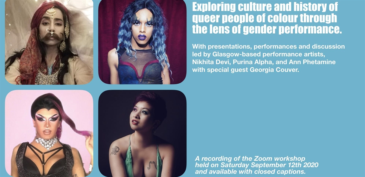 Exploring Culture & History of Queer People of Colour Through The Lens of Gender Performance tickets