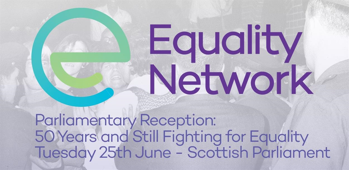 50 Years and Still Fighting for Equality - Equality Network Parliamentary Reception tickets