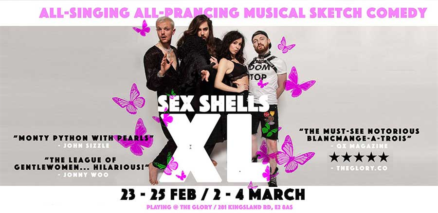 Sex Shells XL tickets