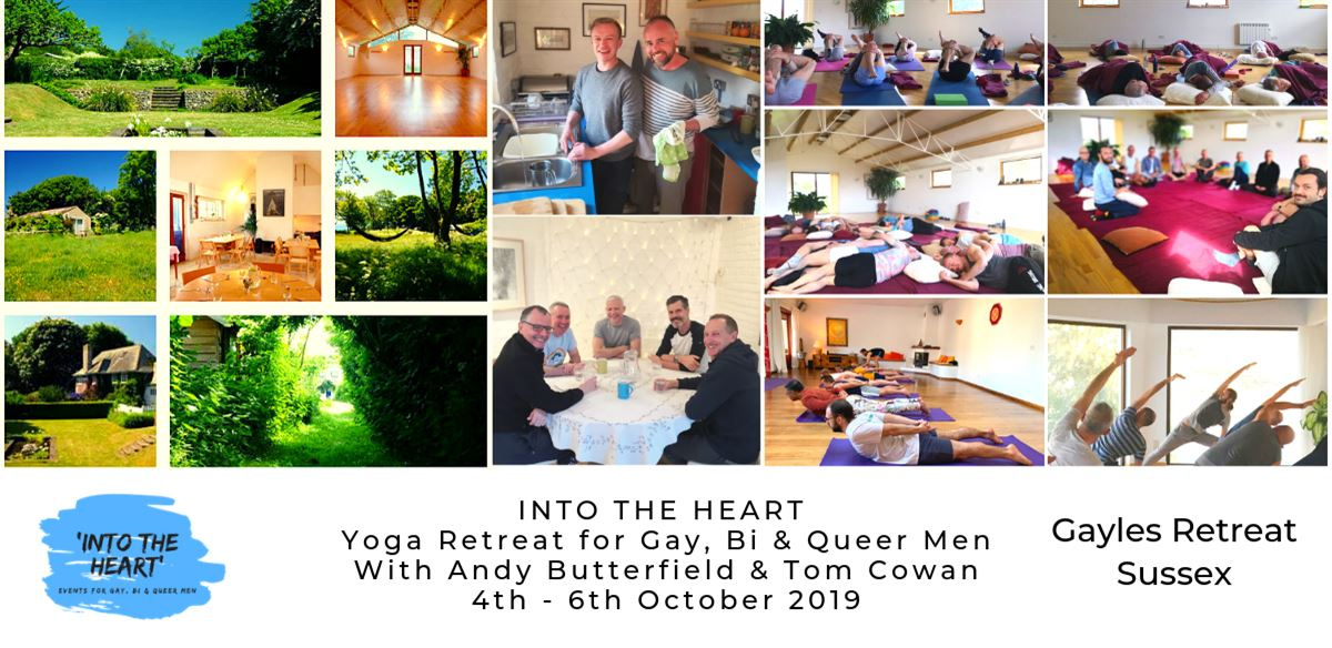 Into The Heart Yoga Retreat, Sussex tickets