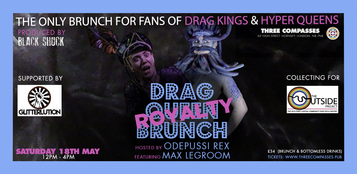 Drag Royalty Brunch with Oedipussi Rex and Guests tickets
