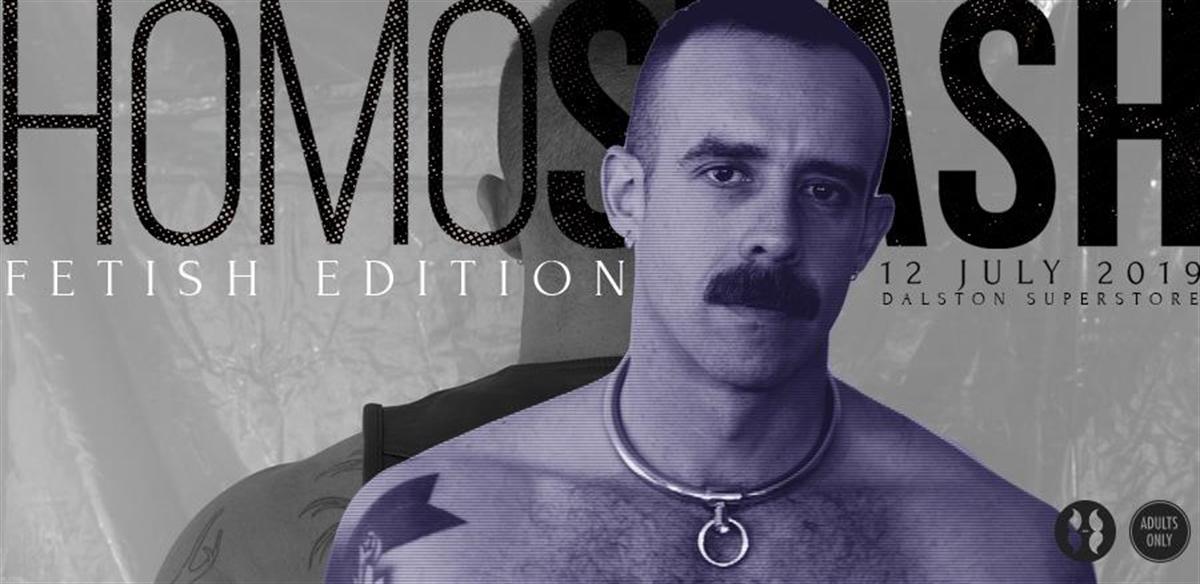 HOMOSTASH - Fetish edition tickets