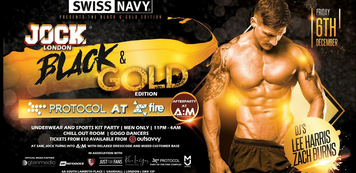 JOCK LONDON - BLACK & GOLD Edition tickets