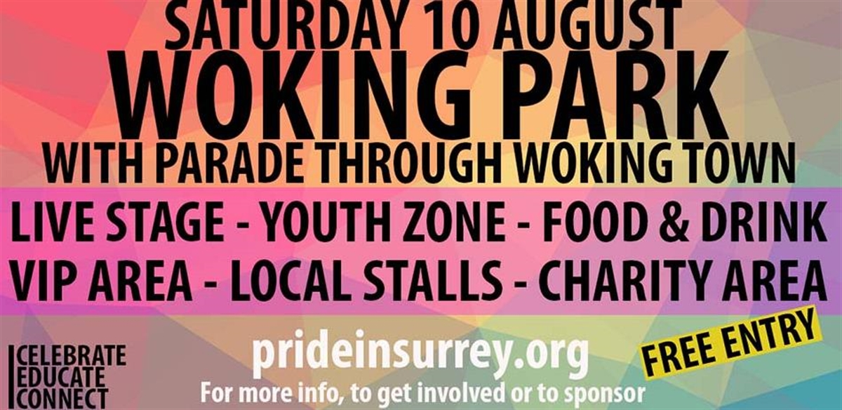 Pride in Surrey 2019  tickets