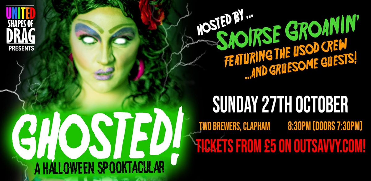 USoD Presents: GHOSTED! tickets