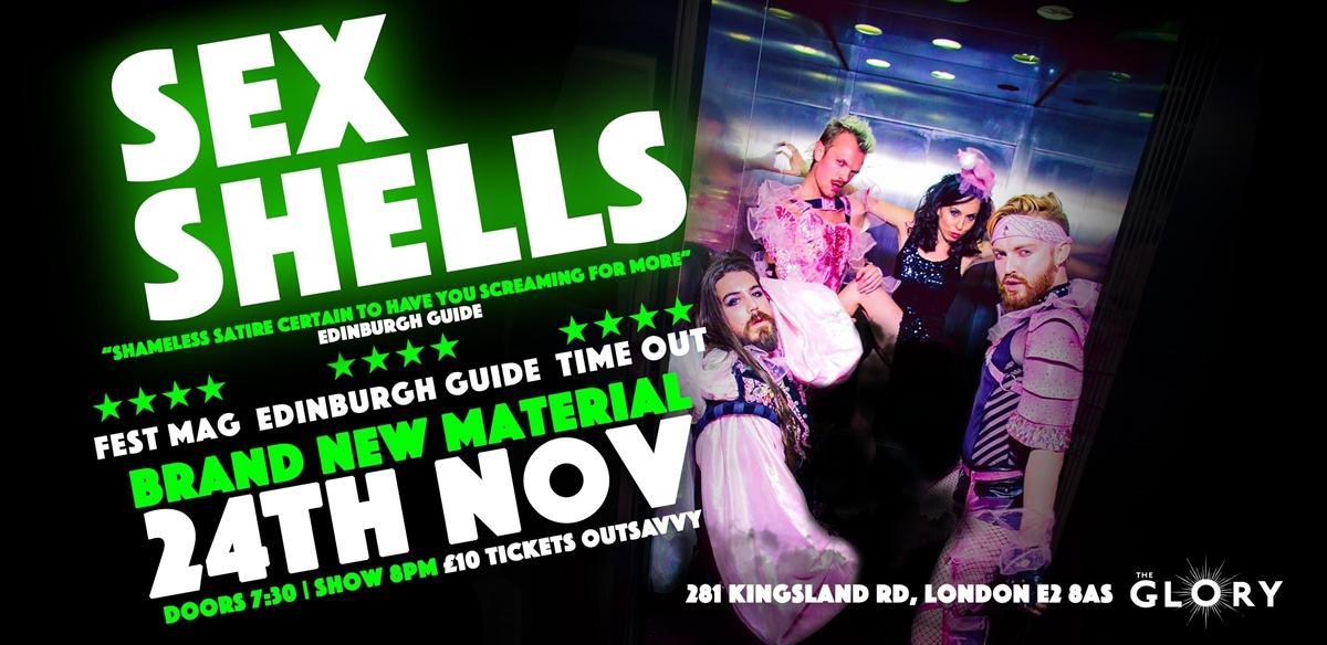 Sex Shells November Show tickets
