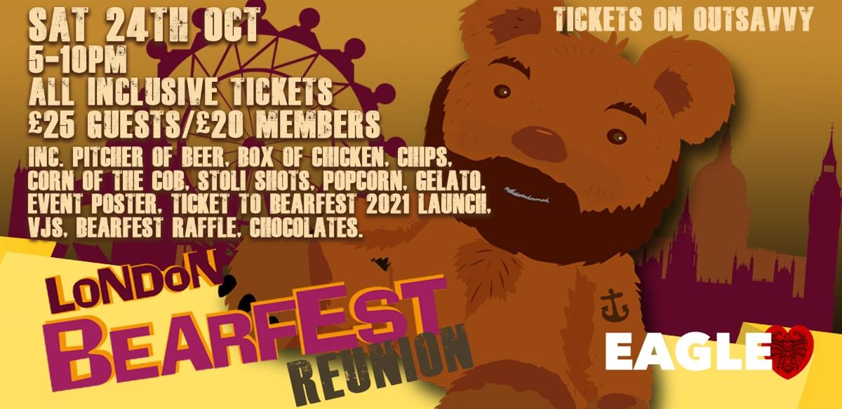 London Bearfest Reunion tickets