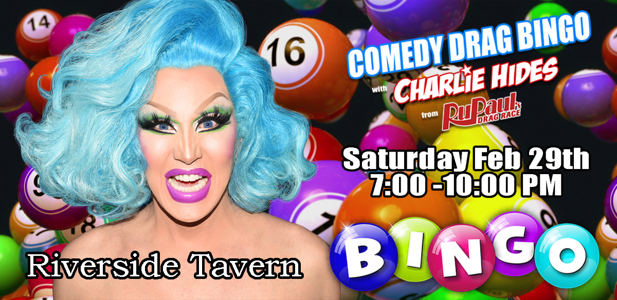 Drag Bingo with Charlie Hides tickets