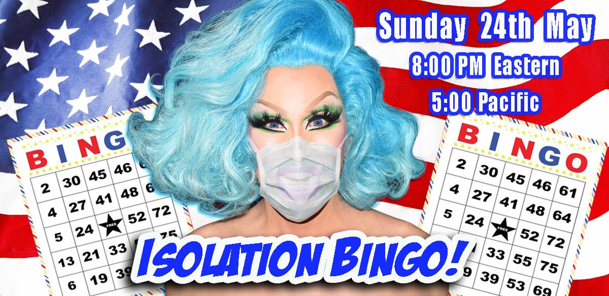 ISOLATION BINGO - USA Edition tickets