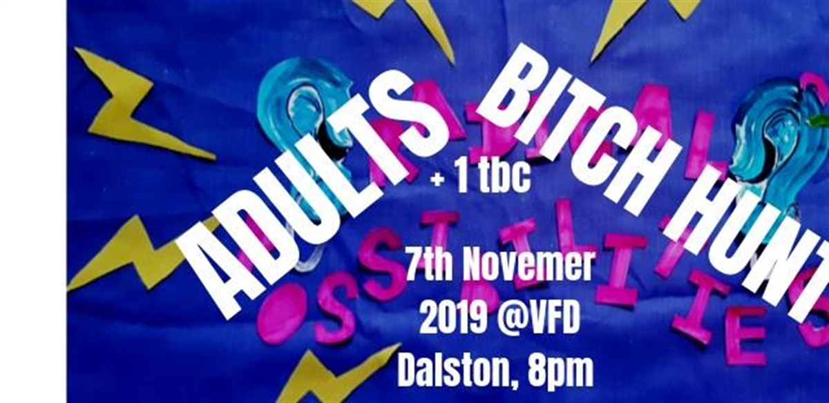 RadPoss presents: Adults, Bitch Hunt, Granola Suicide and [UM] tickets