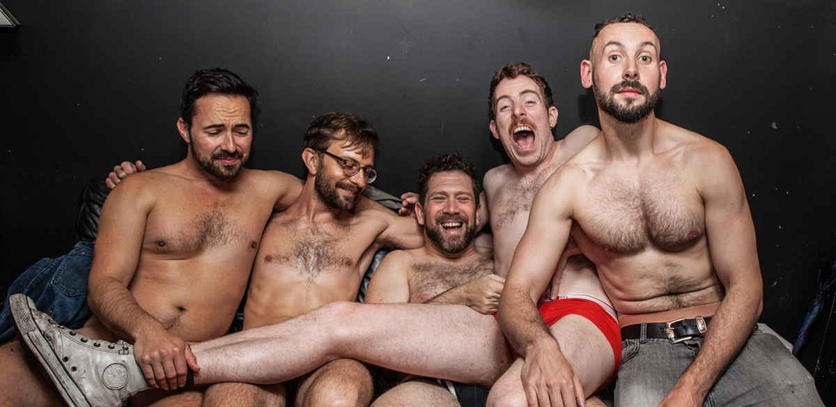 Naked Boys Reading: The Audition 2 tickets